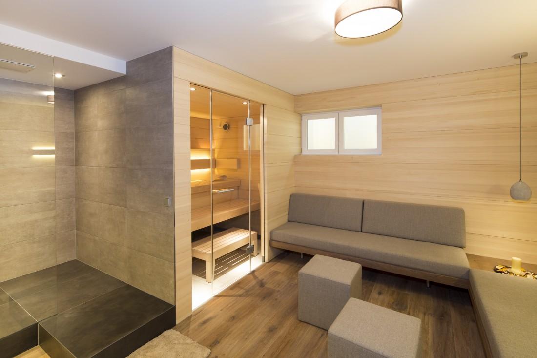 Ausbau Wellnessbereich, Privathaus