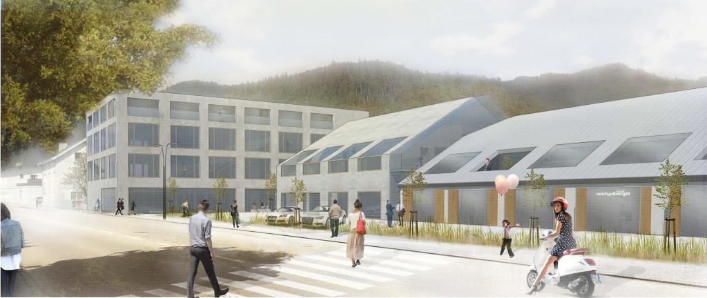 Architekturwettbewerbe Wohn- u. Geschäftshaus Salurnerstrasse: 1. Preis