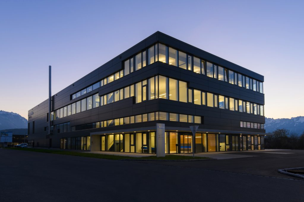 Rentschler Fill Solutions GmbH – Neubau Produktionsgebäude