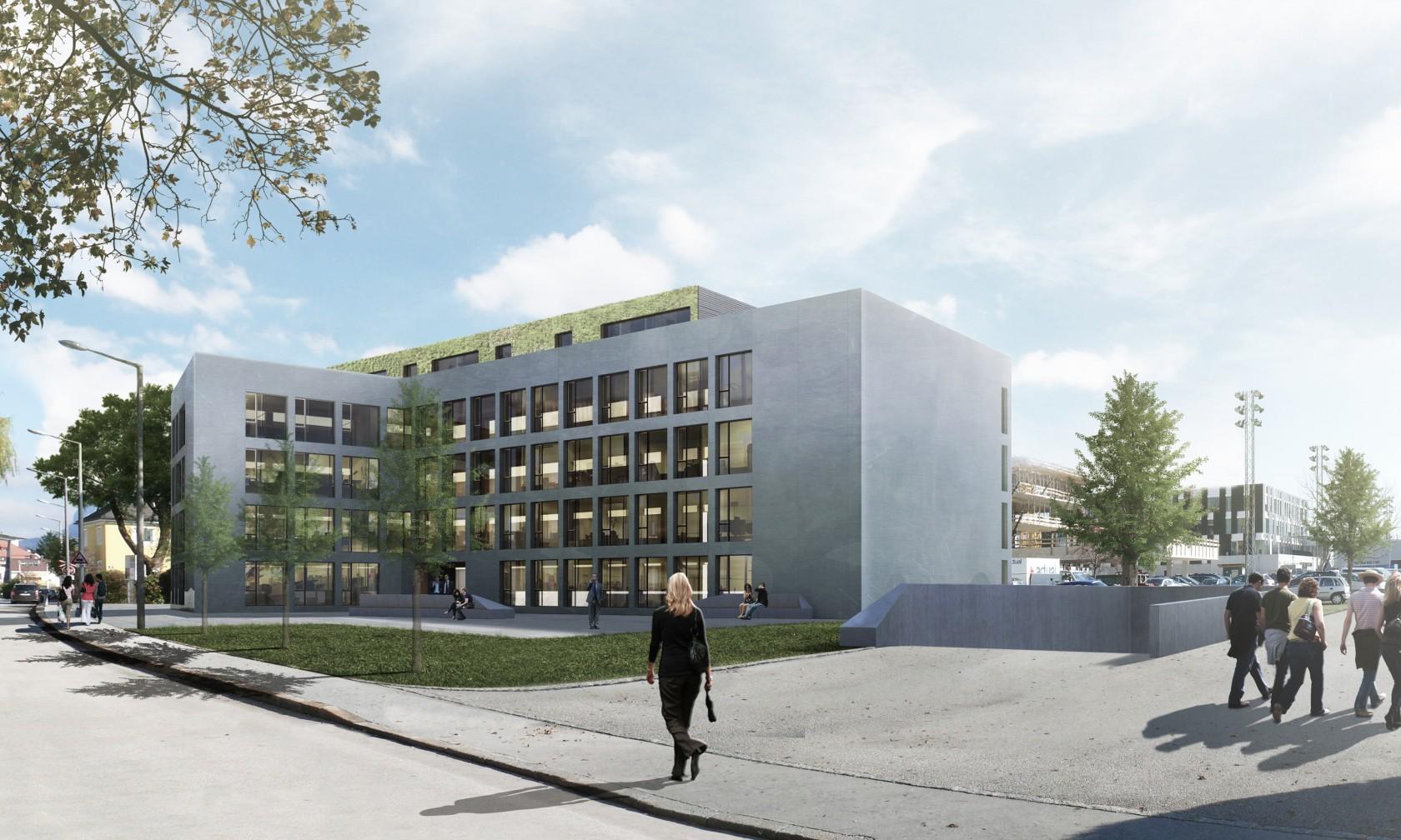 Wettbewerb Architektur Bürogebäude Wüstenrot