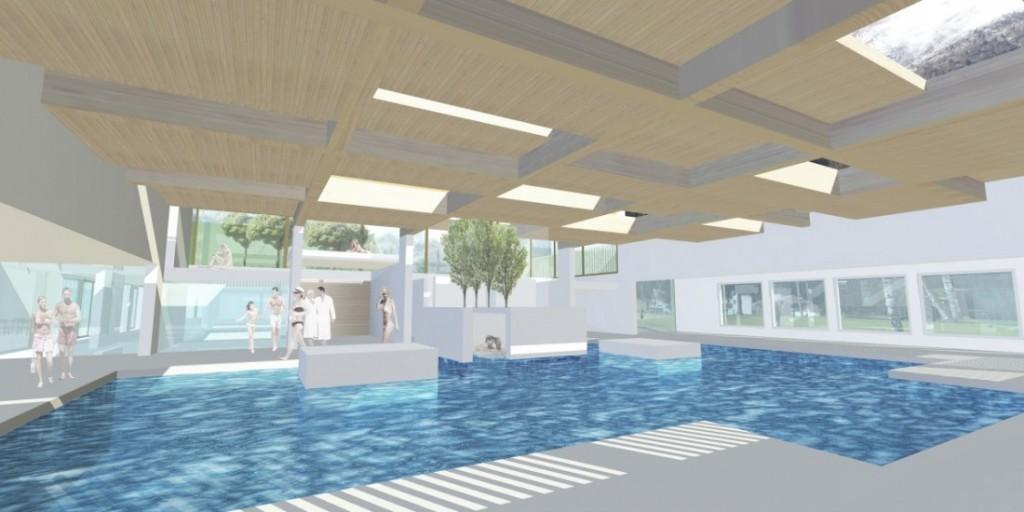 Schwimmbadbau Architekturwettbewerb