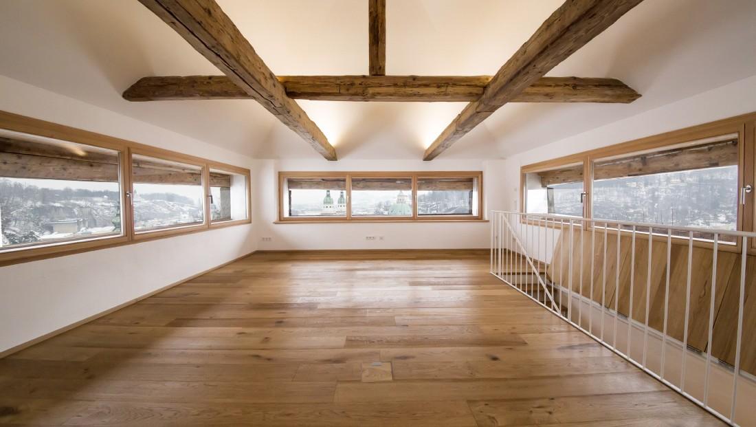 Denkmalgeschütztes Haus sanieren / Festung Hohensalzburg