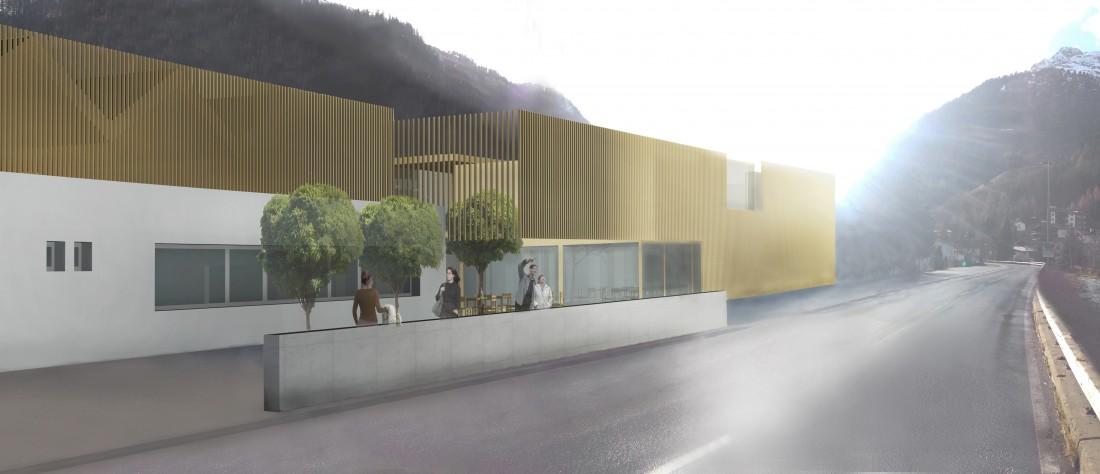 Schwimmbadbau: Wettbewerb Hallenbad Kaunertal-Center