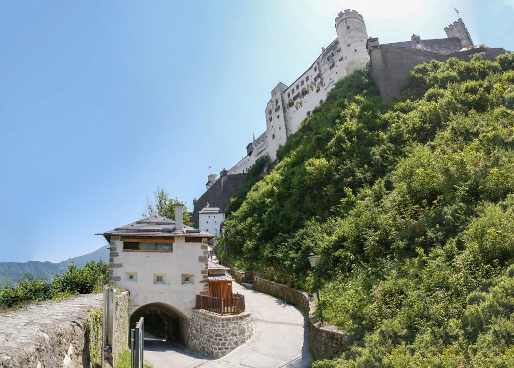 Festung Hohensalzburg, Sanierung des 1. Sperrbogens