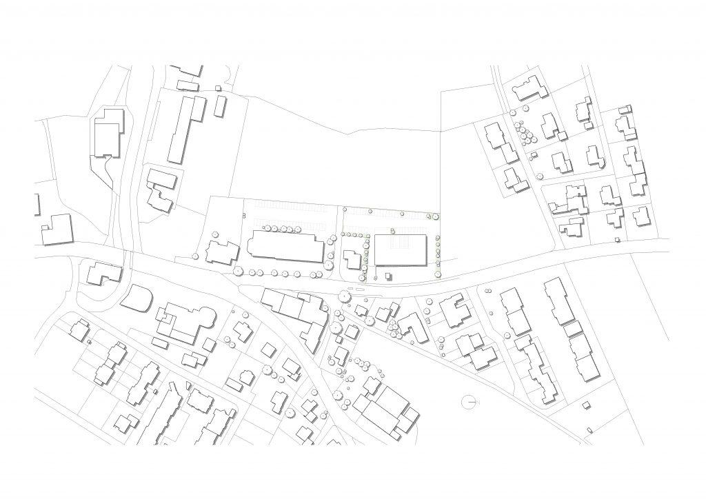 Feuerwehrhäuser Grundrisse Lageplan_M1000