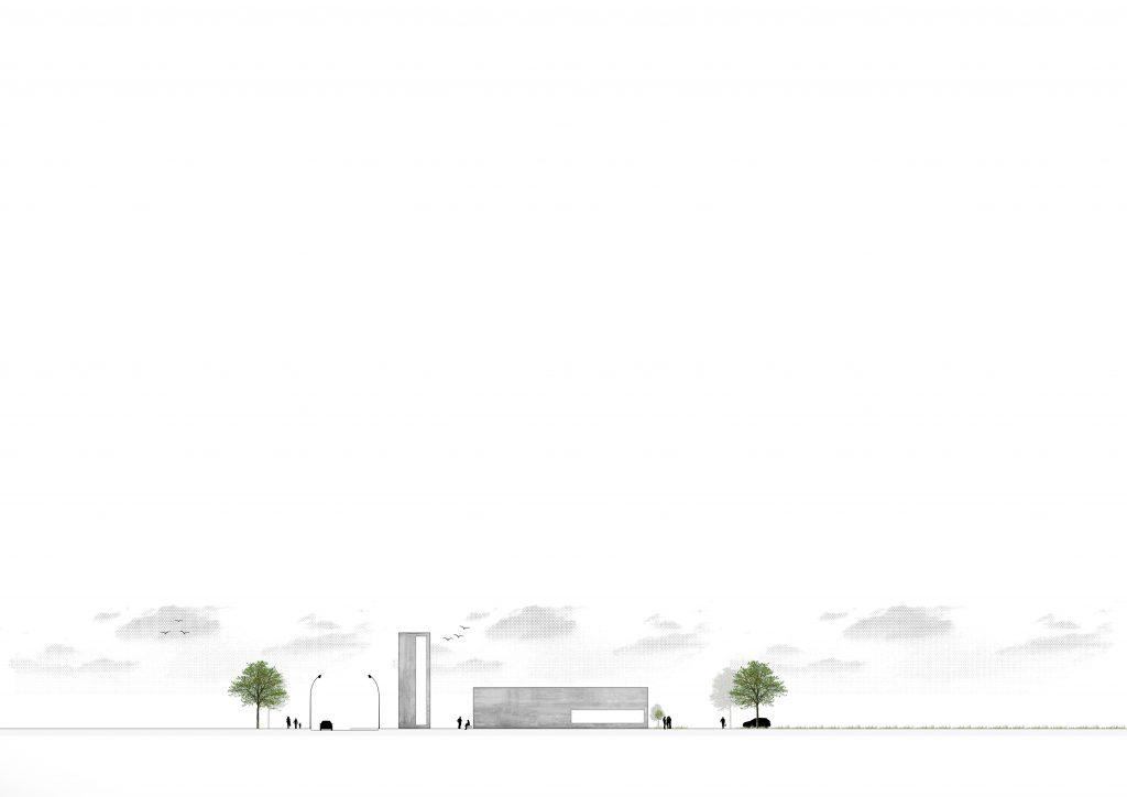 Feuerwehrgerätehaus Ebbs, Architekturwettbewerb 2. Preis