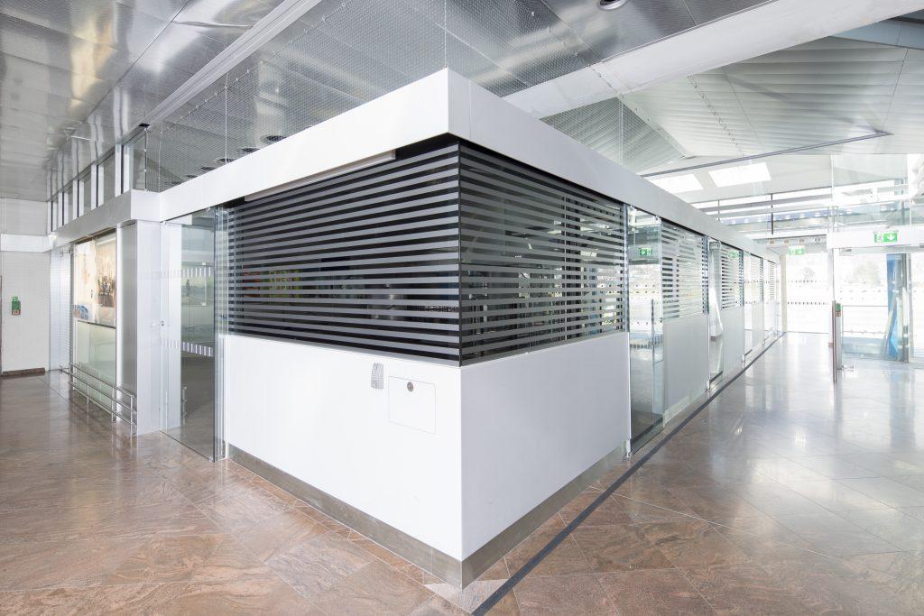 Flughafenarchitektur Innsbruck - Grenzkontrollstellenerweiterung