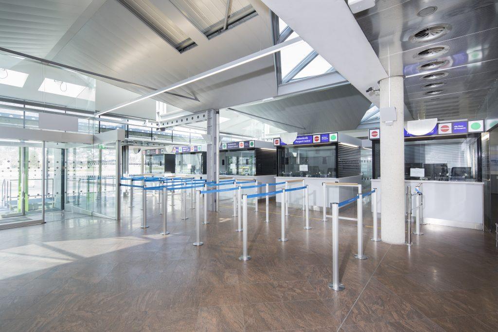 Flughafenarchitektur Innsbruck - konstruktiver Holzbau