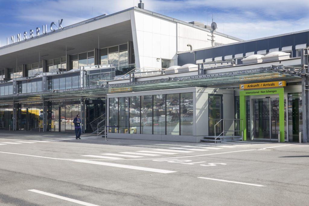Tiroler Flughafen GmbH – Erweiterung Grenzkontrollstellen