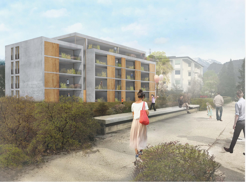 Wohnanlage Kufstein, Architekturwettbewerb
