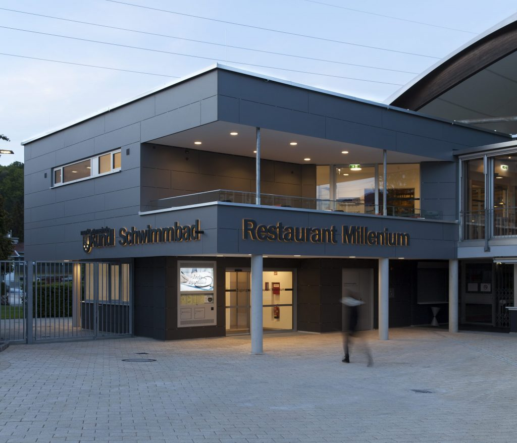 """Eisarena Kundl – Umbau und Erweiterung Cafè/Restaurant """"Millenium"""""""